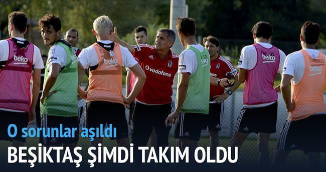 Beşiktaş şimdi takım oldu