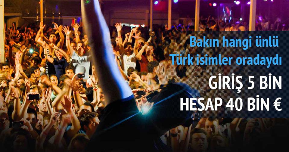 Mikonos'un çılgın Türkler'i