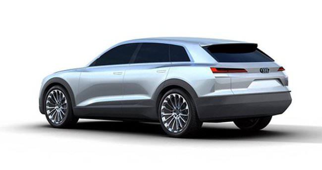 Audi'den yeni Crossover