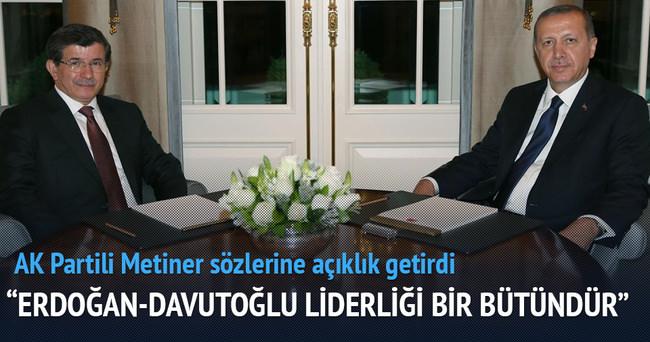 AK Partili Metiner sözlerine açıklık getirdi