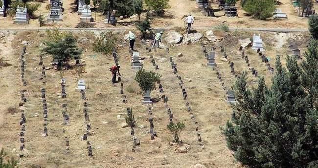 Suruç bombacısı kimsesizler mezarlığında defnedildi