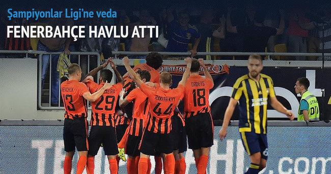 Fenerbahçe Şampiyonlar Ligi'ne veda etti