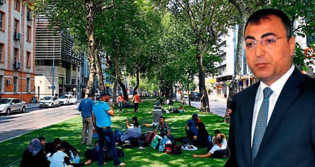 İzmir çadır kent değil