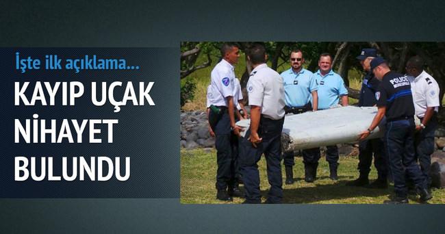 Hint Okyanusu'nda bulunan parça kayıp uçağa ait