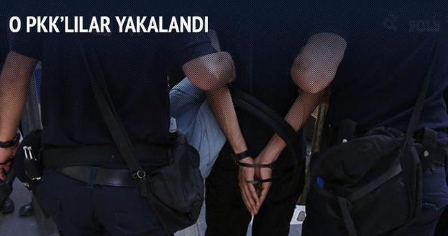 Askere saldıran PKK'lılar yakalandı