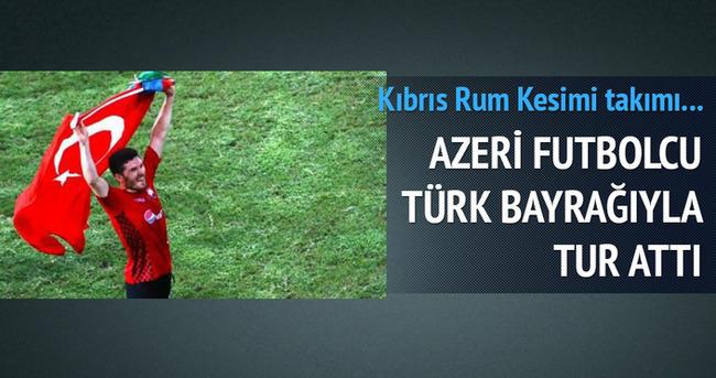 Tarihi başarı! Türk bayrağıyla tur attı!