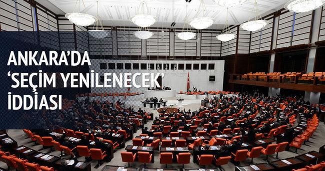 Ankara'da 'seçim yenilenecek' iddiası