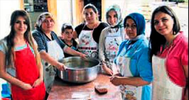 Gönüllü kadınlardan alkışlanacak çalışma