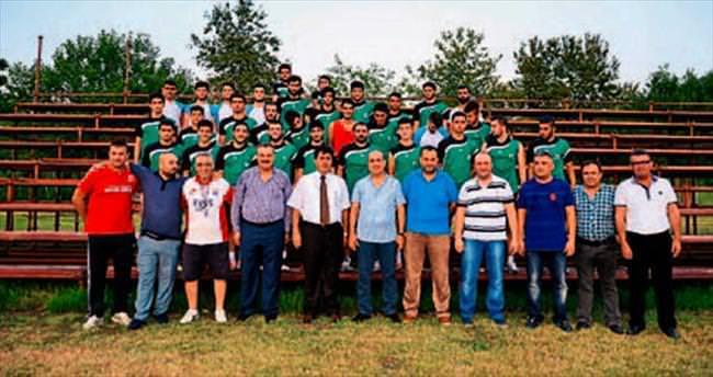 Yeşil Kemer'e Gül desteği