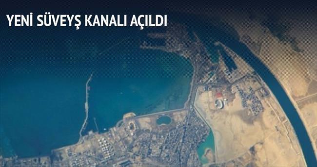 Yeni Süveyş Kanalı açıldı