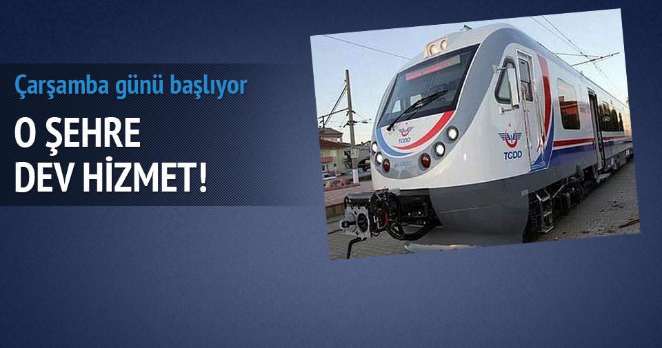 Konya-Akşehir arası raybüs seferleri başlıyor