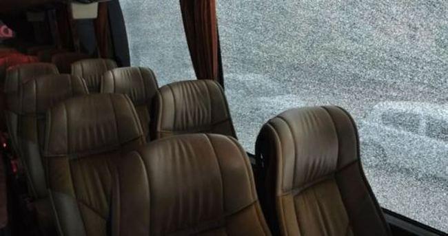 Van'da yolcu otobüsüne silahlı saldırı