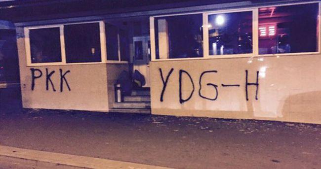 PKK'lılar Almanya'da camiye saldırdı!