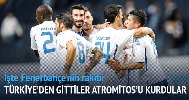 Türkiye'den gittiler Atromitos'u kurdular!