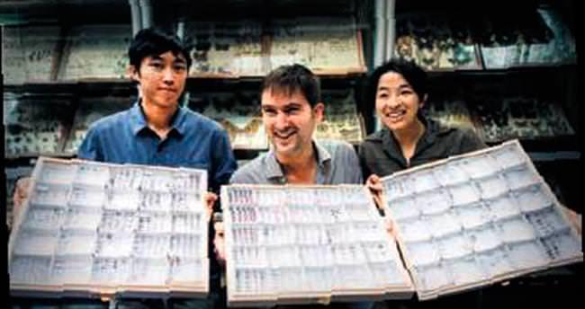 15 bin tür karınca bir haritaya girdi