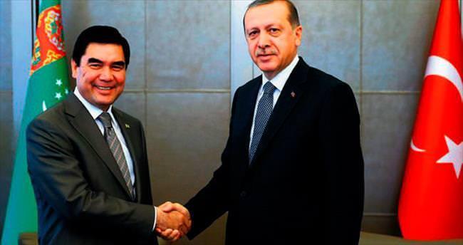Huber Köşkü'nde Türkmen konuk