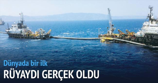 Toroslar'ın suyu Kıbrıs'a can verecek