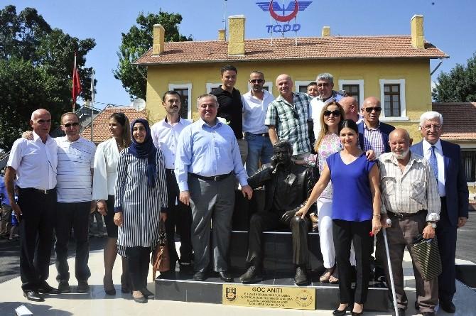 Karaman'da 50. Yıl Anısına Dikilen Göç Anıtı Törenle Açıldı