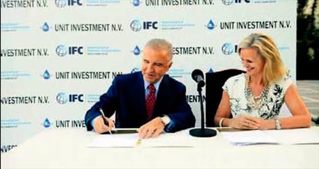 IFC, UNIT'e % 23 ile ortak oldu