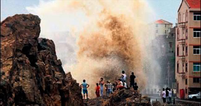 Çin'de tayfun alarmı