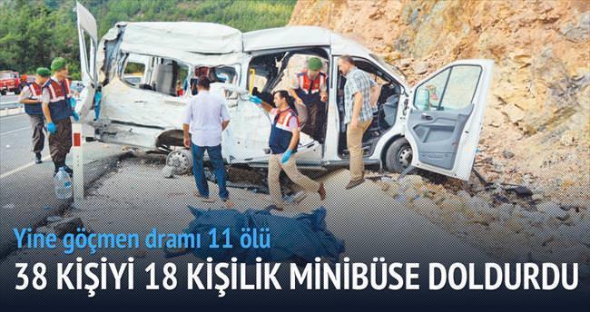 Umuda yolculuk duvara çarptı: 11 ölü