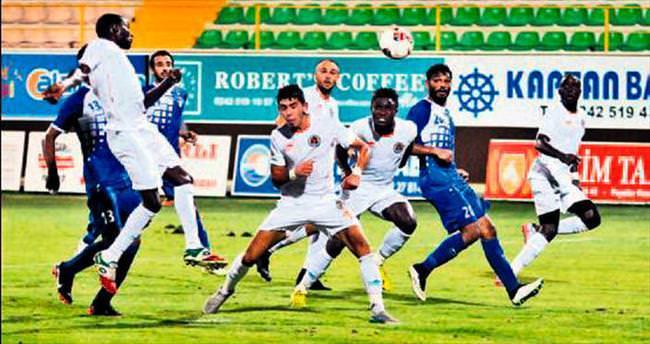 Alanyaspor'un Kuveyt keyfi