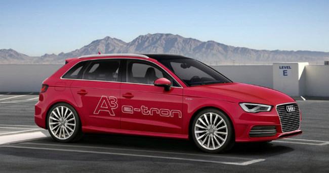 Audi'nin ilk elektrikli otomobili e-Tron