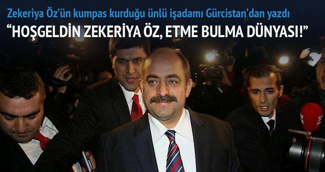 Hoşgeldin Zekeriya Öz, etme bulma dünyası!