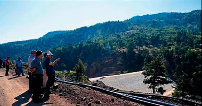 DSİ göletlerinin inşaatı sürüyor