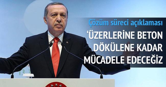 Erdoğan: Çözüm süreci buzdolabında