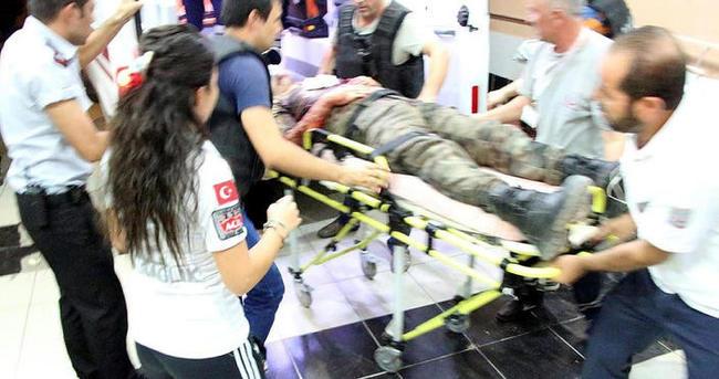 Nusaybin'de polise bombalı ve silahlı saldırı