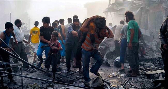 Suriyeliler ölüyor Şam eğleniyor