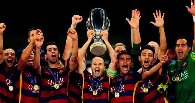 En Süper Kupa Barça'nın