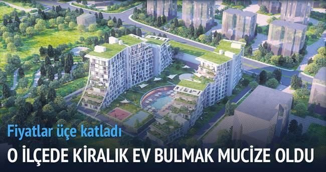 Kurtköy'de kiralık ev kalmadı
