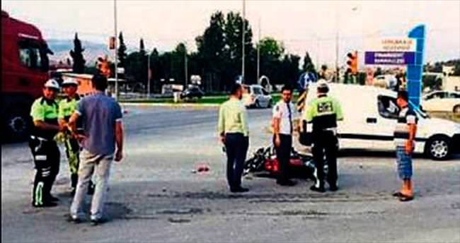 19 yaşındaki genç kaza kurbanı oldu