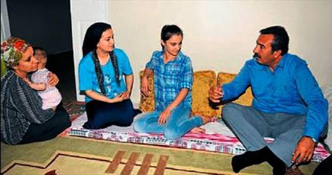 Başkan Çetin'in çat kapı ziyareti