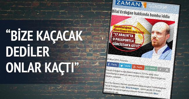 Erdoğan: Bize kaçacak dediler onlar kaçtı