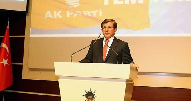 Davutoğlu AK Parti'nin 14. yılında partililere seslenecek