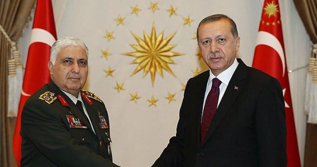 Özel'den Cumhurbaşkanı Erdoğan'a veda ziyareti