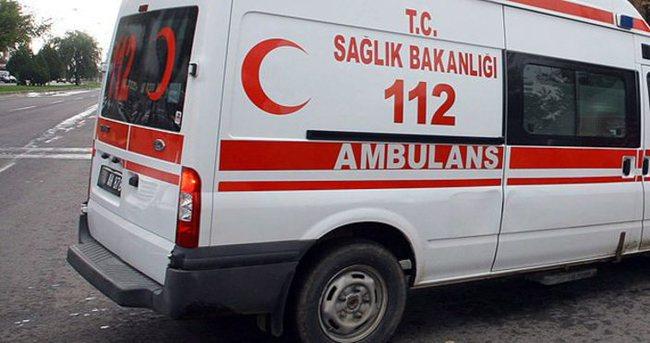Teröristlerin attığı bomba 2 sivili yaraladı