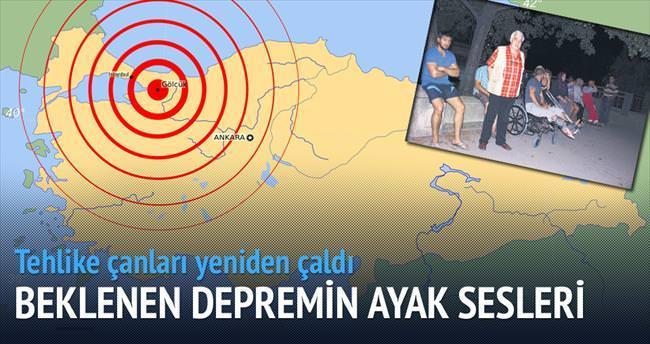 Marmara depreminin 3.8'lik ayak sesleri