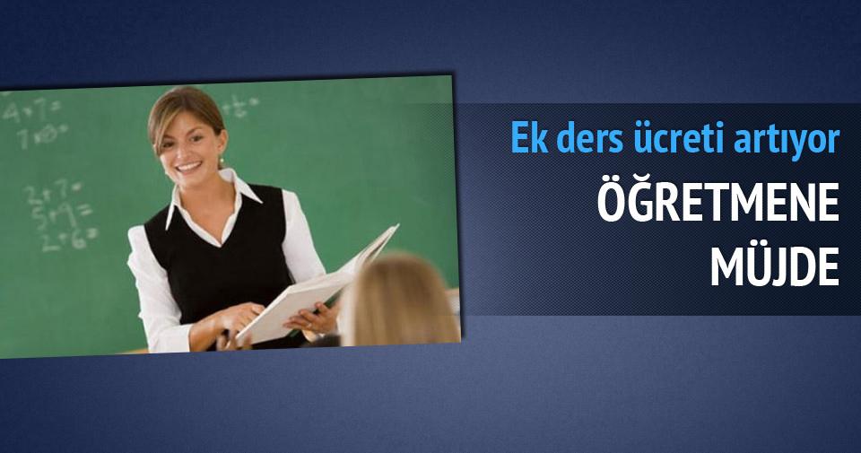 Öğretmene nöbet ücreti