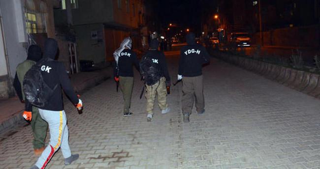 Mersin'de terör örgütü operasyonu