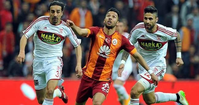 Galatasaray, Sivasspor ile 21. randevuda