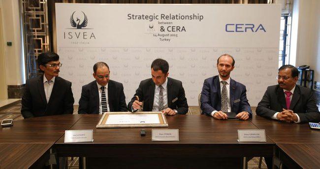 İSVEA, CERA ile işbirliği anlaşması imzaladı