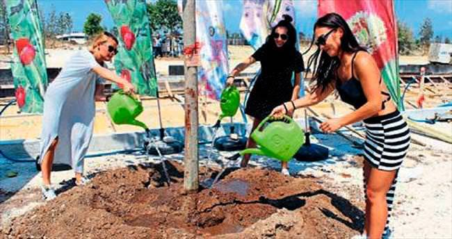 EXPO'ya 19'uncu ağaç Serebro'dan