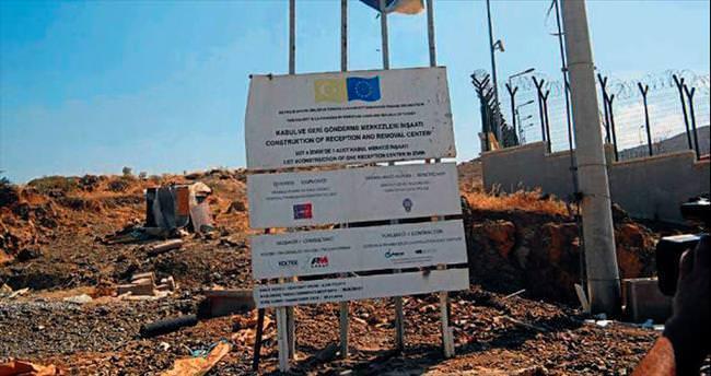 İzmir'de mülteciler için kabul merkezi kuruldu