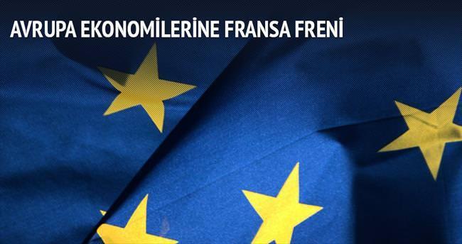 Avrupa ekonomilerine Fransa freni