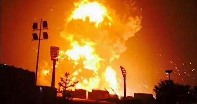 Çin'deki patlamada ölü sayısı 85'e yükseldi