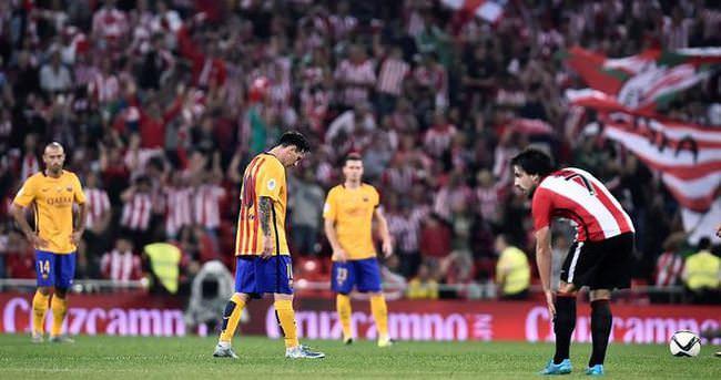 Barcelona rezil oldu